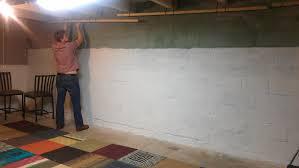 Exposed Basement Ceiling Lighting Ideas by Decor Basement Makeover Inexpensive Basement Finishing Ideas