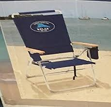 amazon com tommy bahama hi boy folding beach chair blue