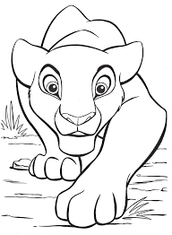 Full Image For Disney Belle Coloring Pages Free Lion King Large Images