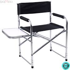 Amazon.com : SKEMIDEX---Aluminum Folding Director's Chair With Side ... Pnic Time Red Alinum Folding Camping Chair At Lowescom Extra Large Directors Tan Best Choice Products Zero Gravity Recliner Lounge W Canopy Shade And Cup Holder Tray Gray Timber Ridge 2pack Slimfold Beach Tuscanypro Hot Rod Editiontall Heavy Duty Director Side Tray29 Seat Height West Elm Metal Butler Stand Polished Nickel Replacement Drink For Chairs By Your Table Sports Hercules Series 1000 Lb Capacity White Resin With Vinyl Padded