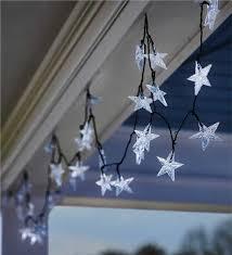 solar star string lights outdoor lighting