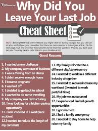 Reasons-for-leaving-a-job-cheat-sheet2016.pdf Awesome Reason For Leaving Job On Resume Atclgrain Four Reasons Your Career Intel Top 15 Things You Can Leave Off Pros And Cons Of Hopping Should I Stay Or Go How To Quit Without Burning Bridges 8 Why My Dream Be A At Home Mom Yes Plan Matt Tanner Medium Answer Do Want Change Jobs 10 Good Interview Worksheets