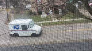 100 Who Makes Mail Trucks HiDef USPS Truck Passing Our House In Greenville Pennsylvania