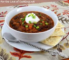 Three Bean And Beef Chili