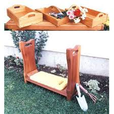 Plans To Make Garden Chair by Woodworking Project Paper Plan To Build Kneeling Bench