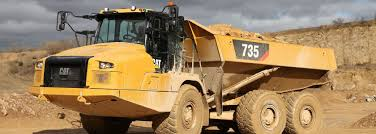100 Cat Mining Trucks Refines Articulated Truck Design Magazine