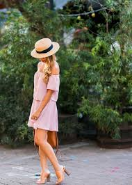 An Off The Shoulder Dress Will Always Afford You A Flirty And Summery Look As