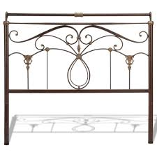 Spindle Headboard And Footboard by California King Lucinda Bed With Intricate Metal Scrollwork And