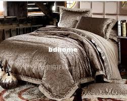 Silk Comforter Sets King Size Luxury Bedding Red Wedding Queen 3