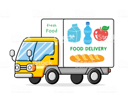 100 Food Delivery Truck Stock Vector Art More Images Of Apple Fruit