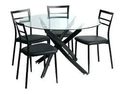 table de cuisine ronde en verre table a manger ronde simple table ronde salle manger ikea