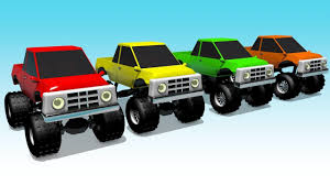 Learn Colors With Big Monster Truck Funny Kids Channel