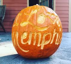 Walking Dead Pumpkin Designs by 2017 Memphis Halloween Events Haunted Houses Pumpkins Patches
