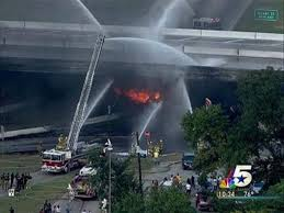 100 Tanker Truck Crash Bridge To Be Replaced After Fiery NBC 5 Dallas