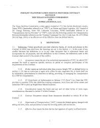 FREIGHT TRANSPORTATION SERVICE PROVIDER CONTRACT BETWEEN THE TEXAS ... Truck Driver Contract Agreement Template Luxury Lovely Trucking Ipdent Contractor Pdf Teamsters Local 600 Futures Freightwaves Beautiful Rental Ri Senate Advances Bill To End Unfair Clause In Contracts Sample Best Of Ownoperator Agreement Tipper Truck And Earthmoving Contracts For Subbies Home Facebook Driver Contract Engneeuforicco Useful 50 For Sale Image Kusaboshicom