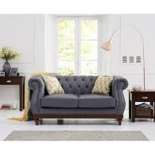100 2 Sofa Living Room Highgrove Grey Leather Seater