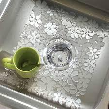 Rubbermaid Small Sink Protector by 3 Pack Floral Anti Slip Sink Mat U2013 Flashspree Com