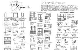 Broyhill Brasilia 9 Drawer Dresser by Dc Hillier U0027s Mcm Daily Broyhill U0027s Brasilia Line