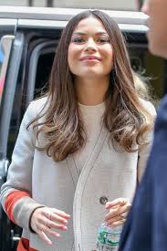 Oceania Smashing Pumpkins Live by Miranda Cosgrove Shows Off Her Eclectic Style Arriving At The
