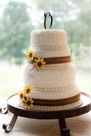 Rustic Wedding Cake Ideas Inspirational Sunflower And Burlap