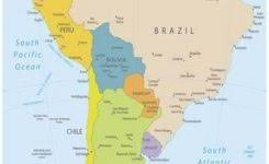Map Of South America Picture Maps Posters At Allposters 308 X 450 Pixels