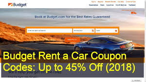 100 Budget Truck Coupon Rent A Car Codes Up To 45 Off 2018 YouTube
