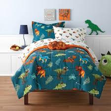 Mainstays Kids Dino Twin Bed Set