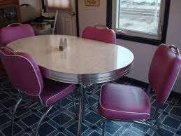 Kitchen Chairs Retro Tables And Also Awesome Concept