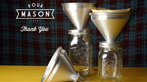 Pour Mason Over Coffee Attachment For Jars