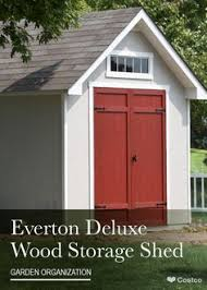 Everton 8 X 12 Wood Shed by Featuring 728 Cubic Feet Of Storage Space 6 U0027 Tall Front And Back