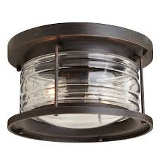 Allen Roth Outdoor Ceiling Fans by Shop Outdoor Flush Mount Lights At Lowes Com