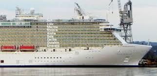 Ruby Princess Baja Deck Plan by Royal Princess Forward Staterooms Cruise Critic Message Board