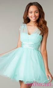 short sleeveless babydoll corset prom dress promgirl