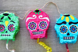 Easy Sugar Skull Day Of by Diy Day Of The Dead Sugar Skull Piñata Garland Growing Up Bilingual