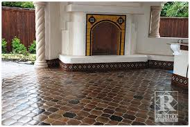 quarry floor tile trend in interior design