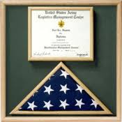 Flag And Certificate Combination Box