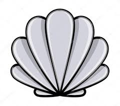 100 Sea Shell Design Shell Cartoon Vector Illustration Stock Vector Baavli 29940609