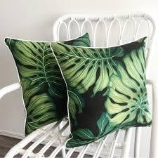 Palm Tree Chair Cushions Fresh 11 Styles Green Leaves ...