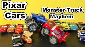 Disney Pixar Cars Funny Car Lightning Mcqueen In Monster Truck ... Monster Jam Screenshots For Windows Mobygames Quincy Raceways To Host Weekend Of Mayhem With Truck Bash Bearcats Box Lunch Bigfoot At The Ccinnati Gardens Down The Drive Mayhem Star 967 2014 Photos Allmonstercom Where Monsters Are What Matters Applike Custom 44 Scalextric C1302 Truck Robbis Hobby Shop Blue Thunder Pinterest Disney Cars Unveils Huge Lightning Mcqueen Artsy Fun Epcot And Pro Bowl Week Preview Android Apps On Google Play