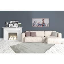 hochflor teppich pastell grün shaggy weich flauschig schlafzimmer 80x150cm