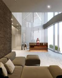 Toshis Living Room Yelp by Ge General Electric Shanghai Office Lobby Design 通用电气上海