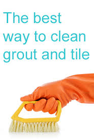 the best way to clean grout and tiles servicemaster