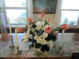 Centerpiece Dining Room Table Centerpieces Modern Flower Arrangements Silk