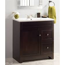 Foremost Naples Bathroom Vanities by Nou Living By Foremost Highland 32 In Walnut Vanity With Cultured