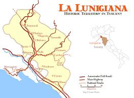 Lunigiana Travel Planning Map Guide
