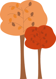 Fall tree branch clipart png