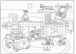 Download Coloring Pages Lego City The Movie Page Benny Printabl