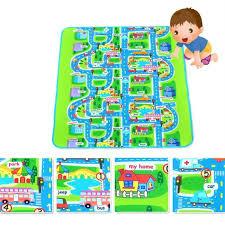 tapis de jeux voitures tapis de jeu circuit voiture de course tapis de sol rectangle