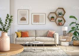 böhmische wohnzimmer innenausstattung 3d render stockfoto und mehr bilder architektur
