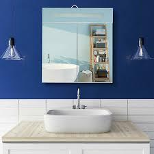 led spiegelschrank badezimmer schrank licht steckdose led hängeschrank 2 türen